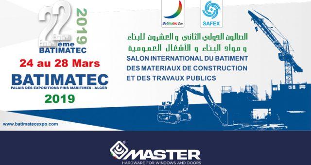 locandina del Batimec 2019 ad Algeri