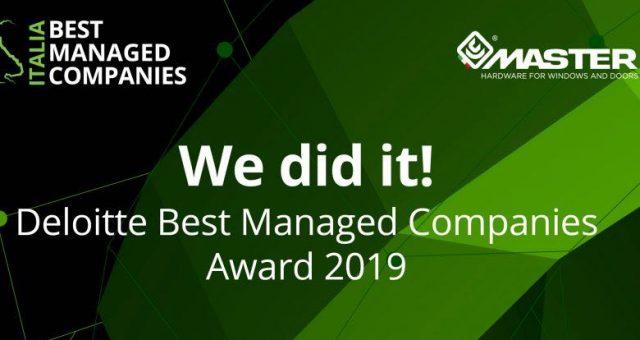 premio Best Managed Companies di Deloitte a Master Italy