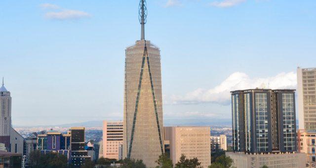 profilo della Britam Tower di Nairobi