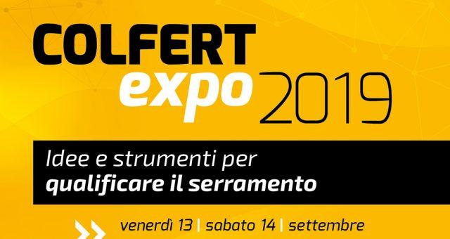 locandina del Colfert Expo 2019